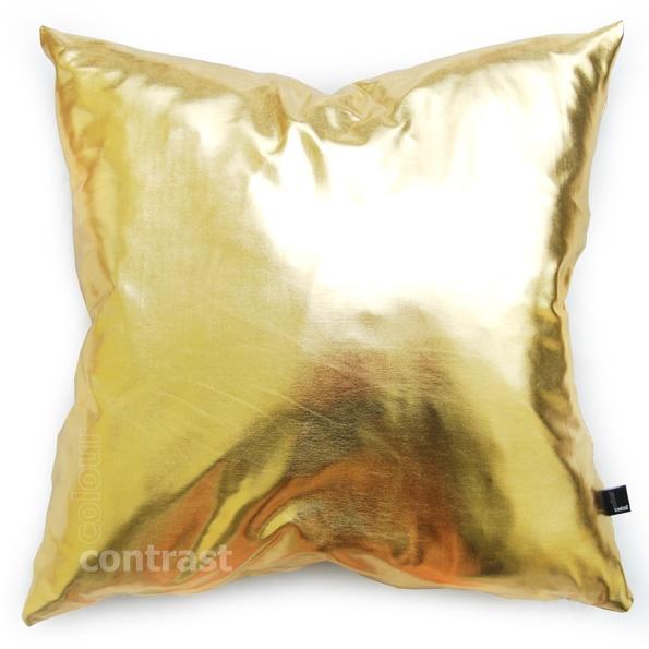 Złota Poduszka Poduszka Magic Gold Złoty Colour Contrastpl