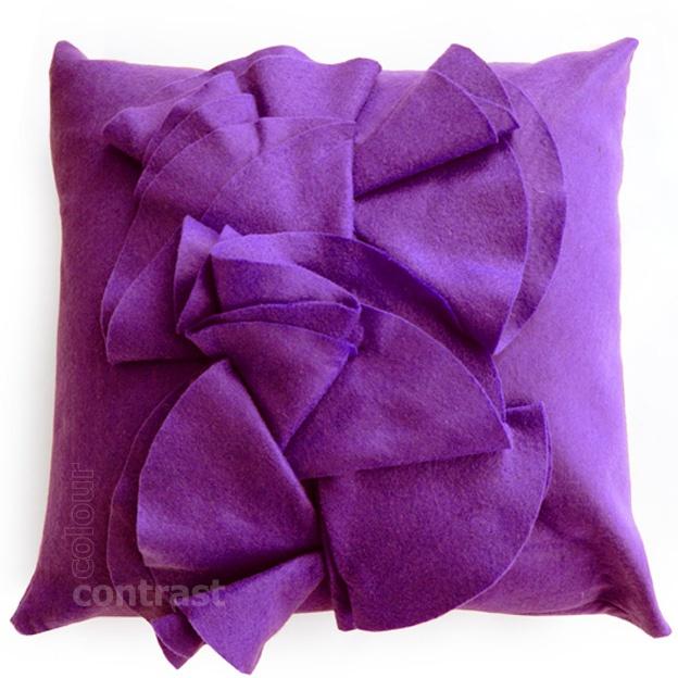 FILCOWA PODUCHA violet