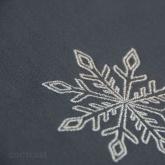 Srebrna śnieżynka :)