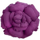 Poduszka dekoracyjna kwiat ROXANNE fioletowy 55cm